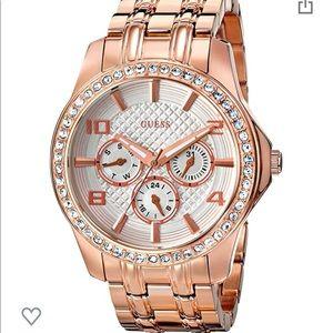 GUESS Womens Rose gold Tone watch